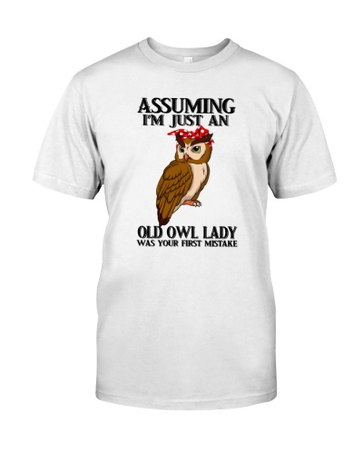 Owl old lady