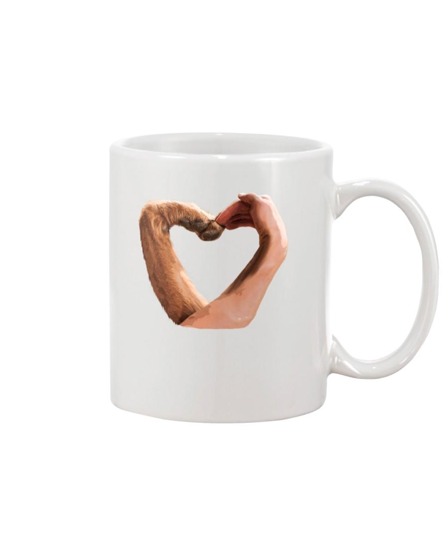 Dog heart Mug