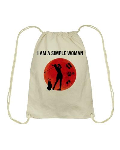 I Am A Simple Woman Golf