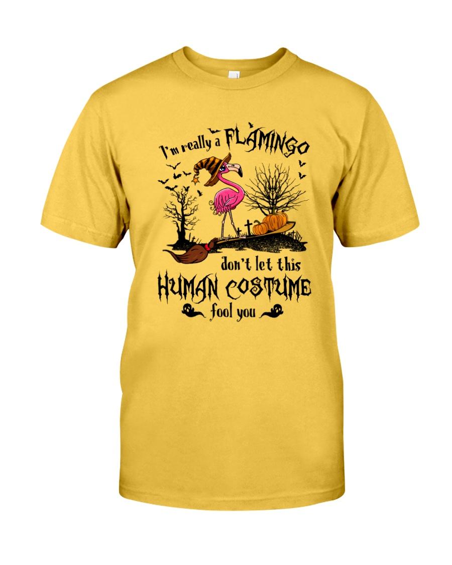 Flamingo human costume Classic T-Shirt