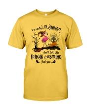 Flamingo human costume Classic T-Shirt front