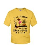 Flamingo human costume Youth T-Shirt thumbnail