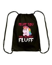 Unicorn fluff Drawstring Bag thumbnail