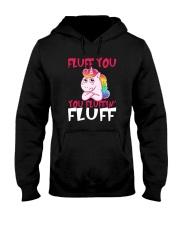 Unicorn fluff Hooded Sweatshirt thumbnail