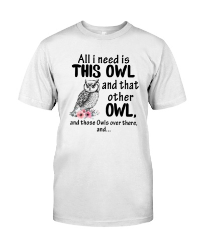 Owl over there