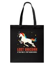 Unicorn lost Tote Bag thumbnail