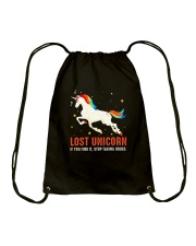 Unicorn lost Drawstring Bag thumbnail