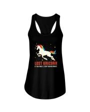Unicorn lost Ladies Flowy Tank thumbnail