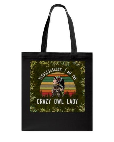 Yes I Am The Crazy Owl Lady Masks
