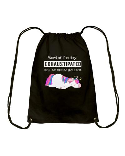 Unicorn exhaustipated
