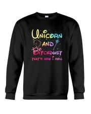 Unicorn and bitchdust Crewneck Sweatshirt thumbnail
