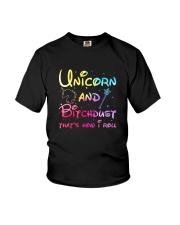 Unicorn and bitchdust Youth T-Shirt thumbnail