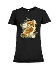 Owl Premium Fit Ladies Tee thumbnail