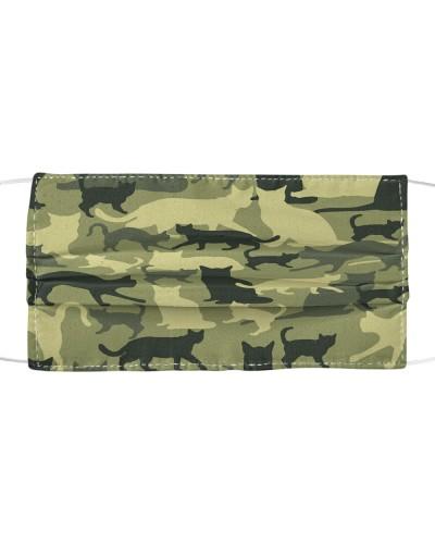 Camouflage Cat Masks