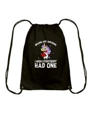 Unicorn had one Drawstring Bag thumbnail