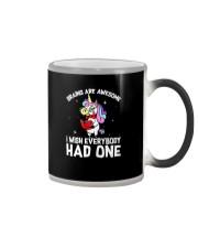 Unicorn had one Color Changing Mug thumbnail