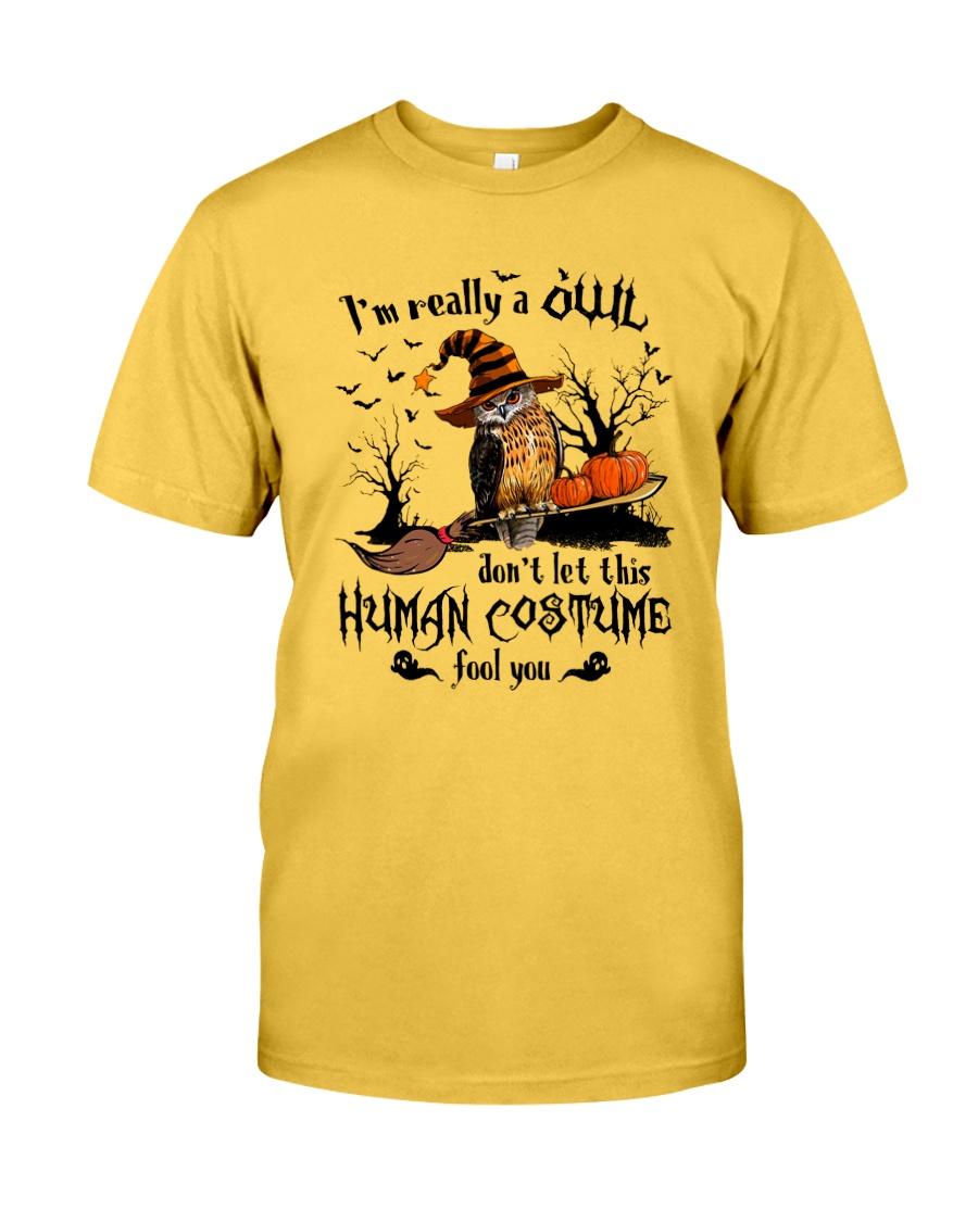 Owl human costume Classic T-Shirt