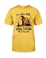 Owl human costume Classic T-Shirt front