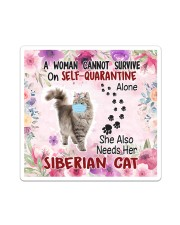 She Also Needs Her Siberian Masks Sticker tile