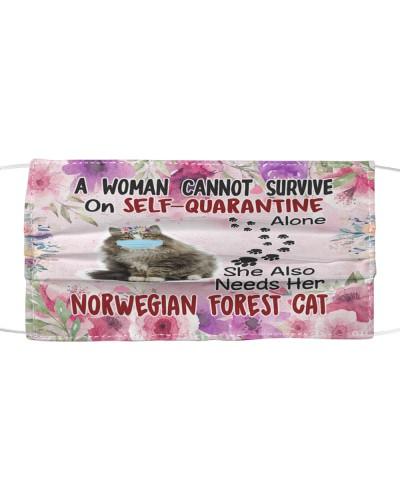 She Also Needs Her Norwegian Forest Masks