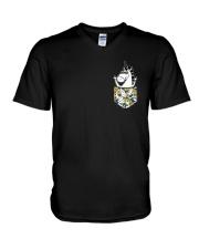 Unicorn V-Neck T-Shirt thumbnail