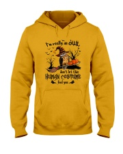Owl human costume Hooded Sweatshirt thumbnail