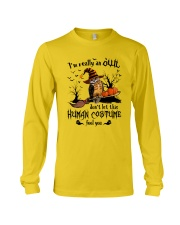 Owl human costume Long Sleeve Tee thumbnail