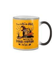 Owl human costume Color Changing Mug thumbnail