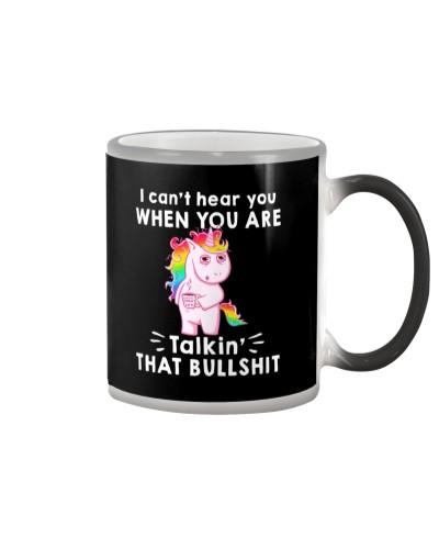 Unicorn talkin that bullshit