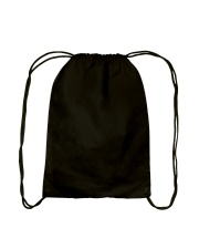 Unicorn in the face Drawstring Bag back