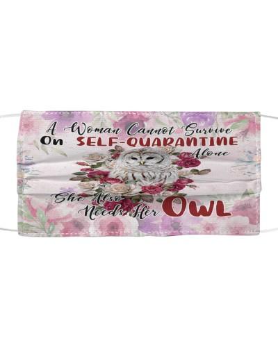 She Also Needs Her Owl Masks