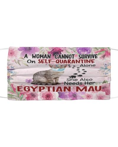 She Also Needs Her Egyptian Mau Masks