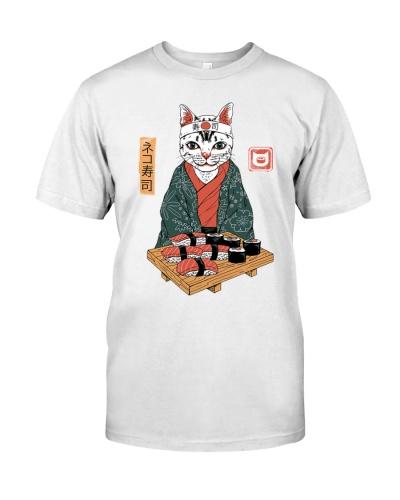 Sushi Master Cat