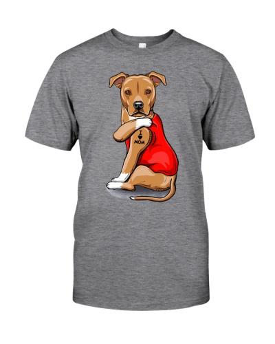 American Staffordshire Terrier Love Mom