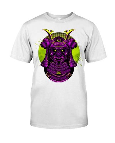 Samurai Mask Purple