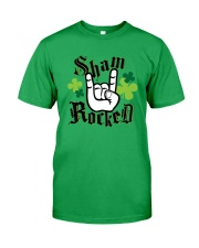St Patrick's Day - Shamrock Classic T-Shirt front