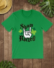 St Patrick's Day - Shamrock Classic T-Shirt lifestyle-mens-crewneck-front-18