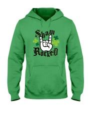 St Patrick's Day - Shamrock Hooded Sweatshirt thumbnail
