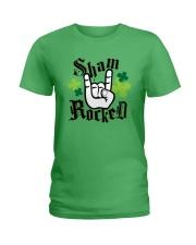 St Patrick's Day - Shamrock Ladies T-Shirt thumbnail