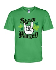 St Patrick's Day - Shamrock V-Neck T-Shirt thumbnail