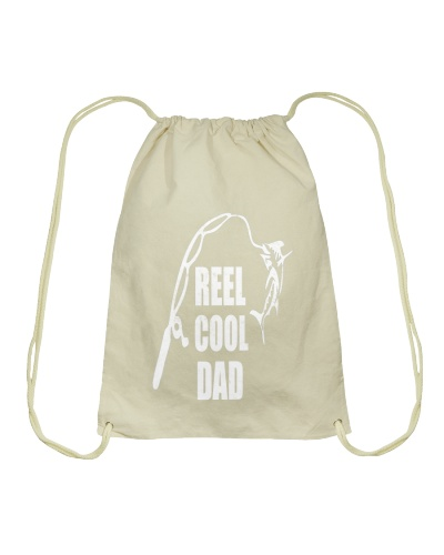 Reel Cool Dad Vintage Fishing Design T Shirt
