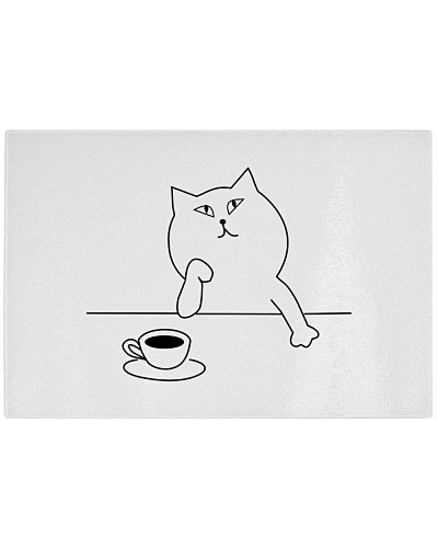 TAGLIERE 'CAT AND COFFEE'
