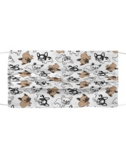 Cute Frenchie Face Mask Cloth face mask thumbnail