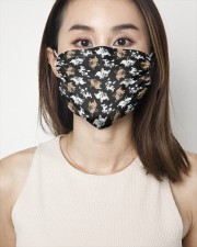 Cute Frenchie Face Mask 2 Layer Face Mask - Single aos-face-mask-2-layers-lifestyle-front-01