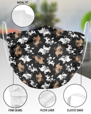 Cute Frenchie Face Mask 2 Layer Face Mask - Single aos-face-mask-2-layers-lifestyle-front-51