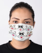 Frenchie Coffee Face Mask Cloth face mask aos-face-mask-lifestyle-01