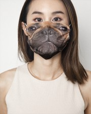 French Bulldog Face Mask 2 Layer Face Mask - Single aos-face-mask-2-layers-lifestyle-front-01