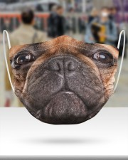 French Bulldog Face Mask 2 Layer Face Mask - Single aos-face-mask-2-layers-lifestyle-front-48
