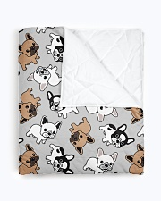 "Cute Frenchie  Quilt 40""x50"" - Baby aos-quilt-40x50-lifestyle-closeup-front-01"