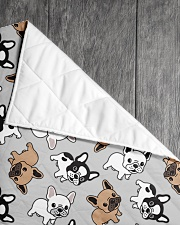 "Cute Frenchie  Quilt 40""x50"" - Baby aos-quilt-40x50-lifestyle-closeup-front-05"